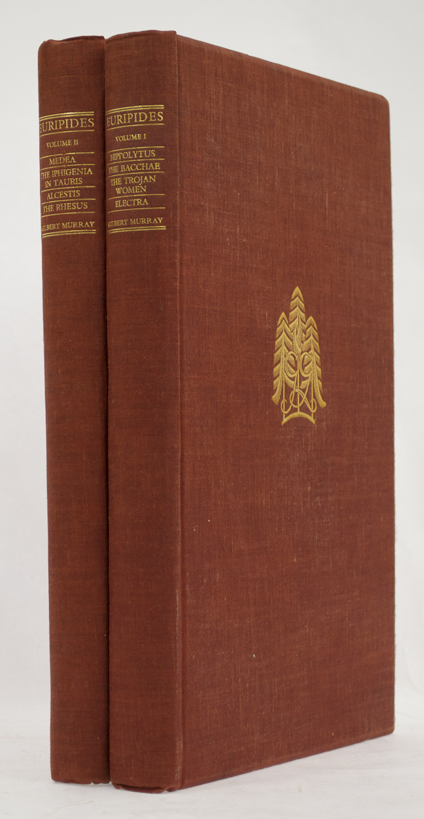 GREGYNOG PRESS. - Plays of Euripedes. Wood engravings by R.A. Maynard and H.W. Bray.