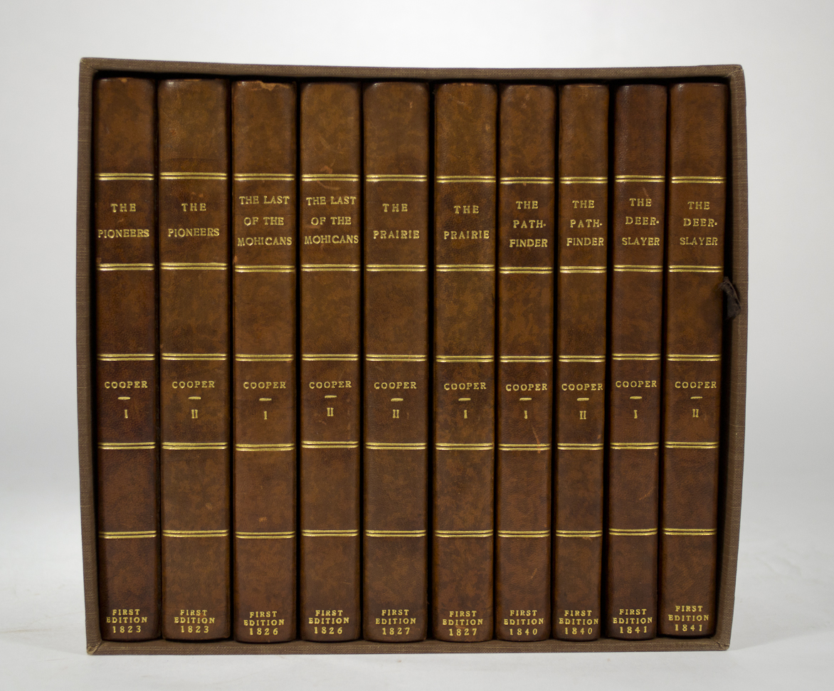 COOPER, James Fenimore. - Five First Editions.