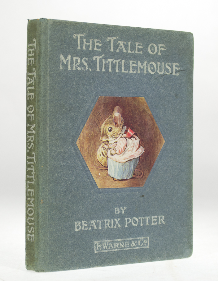 POTTER, Beatrix. - Tale of Mrs.Tittlemouse.