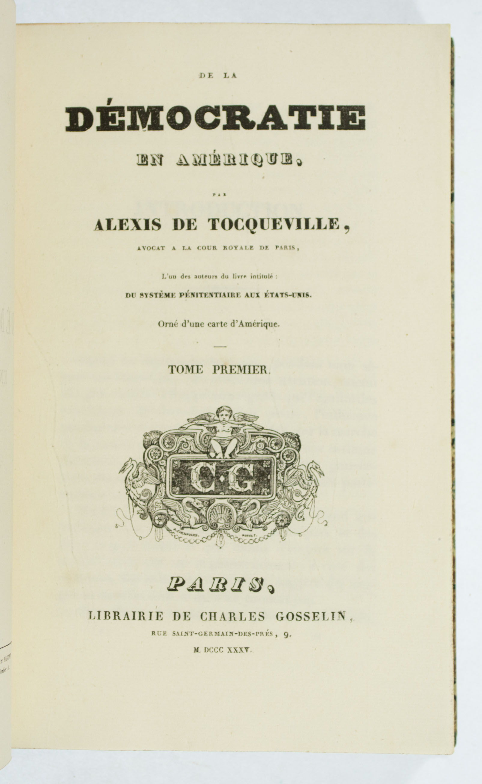 tocqueville essay The political situation in france and america in the similar revolutionary terms, acknowledging the fact that america did not possess a single germ of revolution, while the roots of the press and freedom of press development in france were mainly found in the social instability, through which that country had to go during that time.