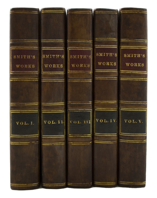 SMITH, Adam. - Works of Adam Smith, LL.D.